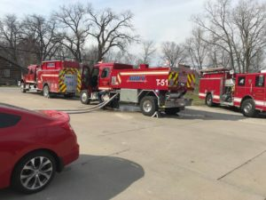 Holt Community Fire Protection District Fire Suppression